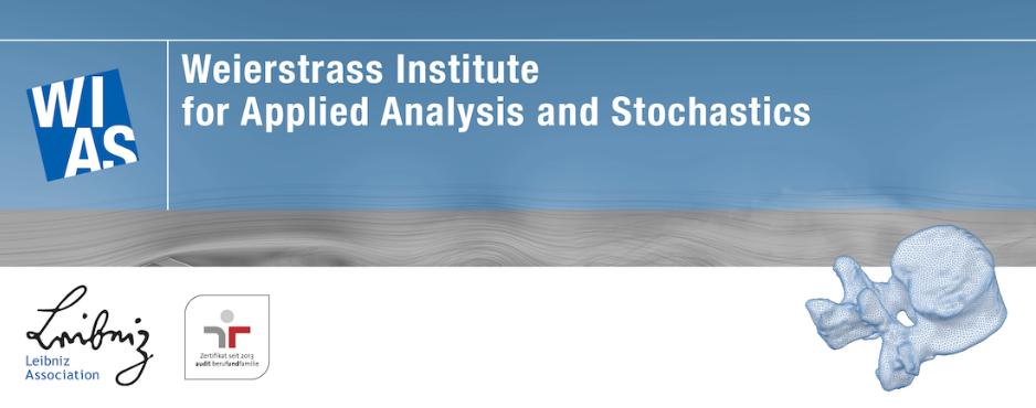 PhD position (f/m/d) - Weierstrass Institute - Logo