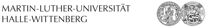 Professur - Martin-Luther-Universität Halle-Wittenberg - Logo