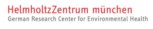 Science Manager (f/m/d) - Helmholtz-Zentrum München - Logo