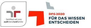 Wissenschafsmanager (m/w/d) - DFG - Logo