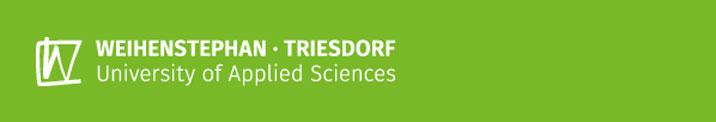 Wissenschaftliche Mitarbeiterin / Wissenschaftlicher Mitarbeiter (m/w/d) - Hochschule Weihenstephan-Triesdorf - Header