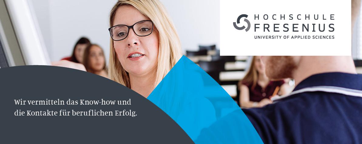 Studiengangsleiter / Professor (m/w/d) - Hochschule Fresenius - Slider1
