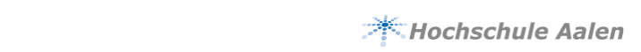 Projektleiter (m/w/d) - Hochschule Aalen - Logo