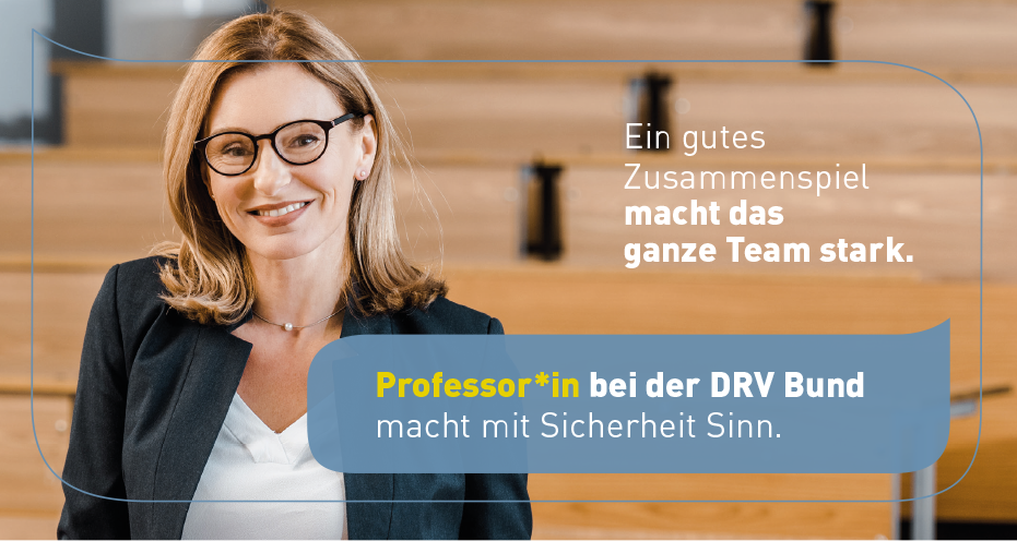 Professur (W2) - DRV Bund - Head