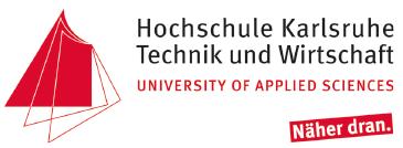 Kanzlerin/Kanzlers (w/m/d) - HsKA - Logo