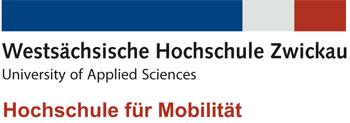 Professur (W2) - Westsächsische Hochschule Zwickau - Logo