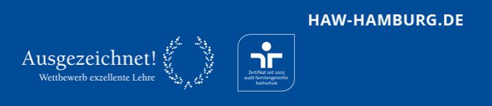 Professur (W2) - HAW Hamburg - Footer