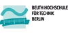 Professur (W2) Smart Mechatronic Systems - Beuth Hochschule für Technik Berlin - Logo