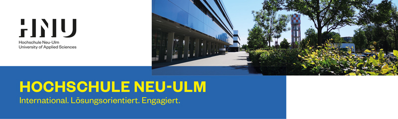 W2-Forschungsprofessur - Digitale Transformation - HNU - Logo