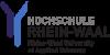 """Wissenschaftlicher Mitarbeiter (m/w/d) für das Drittmittelprojekt """"Institutionelle Rahmenbedingungen der Pflegeversorgung"""" in der Förderlinie """"OERContent.nrw"""" - Hochschule Rhein-Waal - Logo"""
