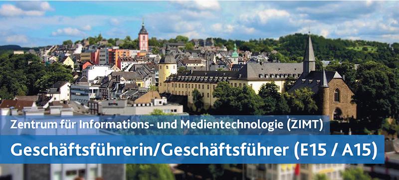 Geschäftsführerin/Geschäftsführer (E15 / A15)- Uni Siegen - Bild