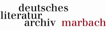 Mitarbeiter (m/w/d) im Referat Finanzen - Deutsches Literaturarchiv Marbach - Logo
