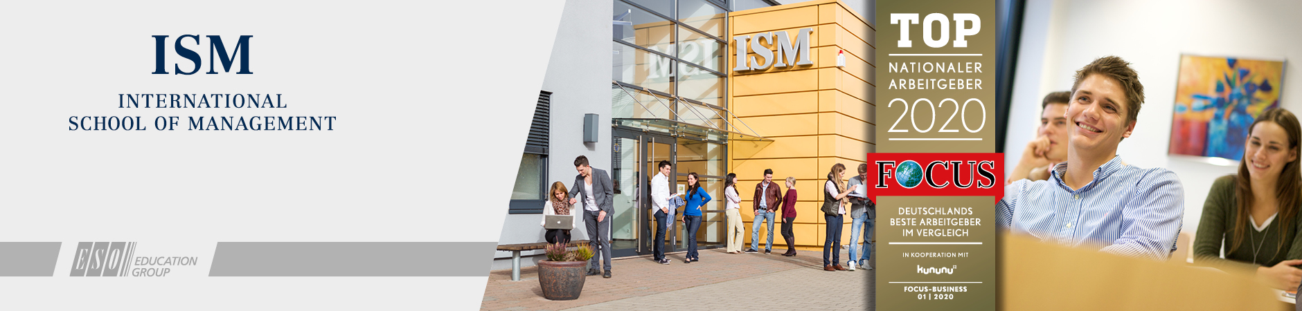 Professur Corporate Finance - ISM - Logo