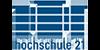 Wissenschaftlicher Mitarbeiter (m/w/d) im Studiengang Architektur DUAL - hochschule 21 - Logo