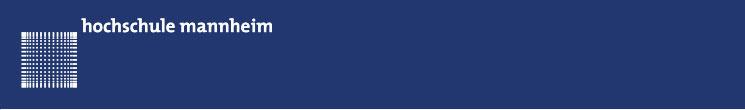 Wissenschaftlicher Mitarbeiter (m/w/d) - Hochschule Mannheim - Logo