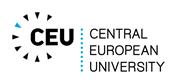 Full Professor position  - Central European University (CEU) - Logo