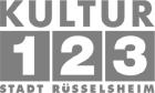 Betriebsleitung (m/w/d) - Kultur123 Stadt Rüsselsheim - Logo