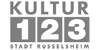 """Betriebsleitung (m/w/d) für den Eigenbetrieb """"Kultur123 Stadt Rüsselsheim"""" - Kultur123 Stadt Rüsselsheim - Logo"""