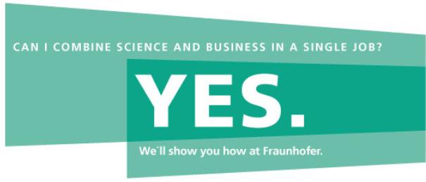 RESEARCH ASSOCIATE / COMPUTER SCIENTIST - FRAUNHOFER-INSTITUT - Bild