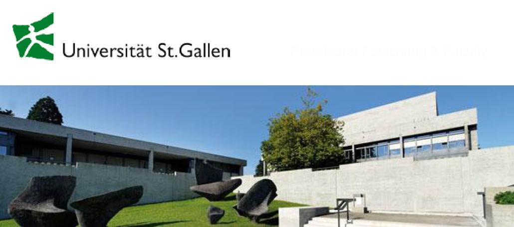 Fachspezialist (m/w/d) Faculty Affairs - Universität St. Gallen - Logo