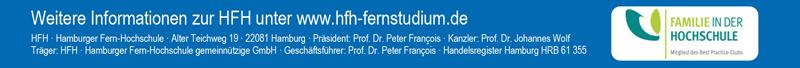 Professur - Hamburger Fern-Hochschule - Logo