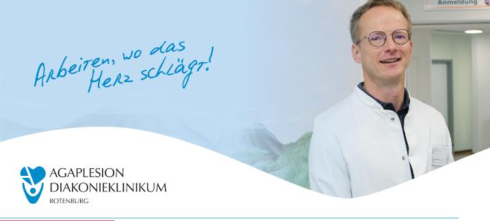 Assistenzarzt (m/w/d) - Agaplesion Diakonieklinikum Rotenburg gemeinnützige GmbH - Header