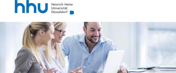 Gründungsberater/innen (m/w/d) - Heinrich-Heine-Universität Düsseldorf - Logo