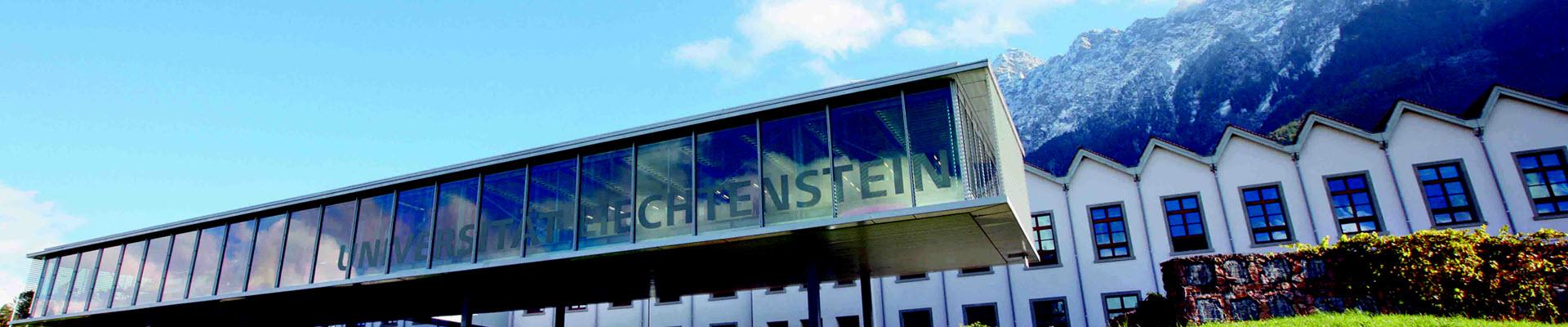 Wissenschaftlicher Mitarbeiter (w/m/d)  - Universität Liechtenstein - Bild
