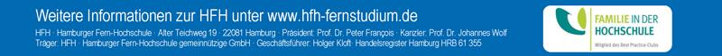 Professur für Therapie-und Pflegewissenschaften - Hamburger Fern-Hochschule - Logo