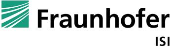Wirtschaftsingenieur / Naturwissenschaftler / Wirtschaftswissenschaftler (m/w/d) Energiesysteme / Erneuerbare Energien - FRAUNHOFER-INSTITUT - Logo