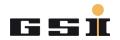 Post-doctoral - GSI Helmholtzzentrum für Schwerionenforschung GmbH - Logo