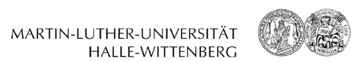 W3-Professur - Martin-Luther-Universität Halle-Wittenberg - Logo