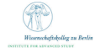 Leitung (m/w/d) der Bibliothek - Wissenschaftskolleg zu Berlin - Institute for Advanced Study - Logo
