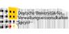 Wissenschaftlicher Mitarbeiter (m/w/d) am Lehrstuhl für Volkswirtschaftslehre, insbesondere Wirtschafts- und Verkehrspolitik - Deutsche Universität für Verwaltungswissenschaften Speyer - Logo
