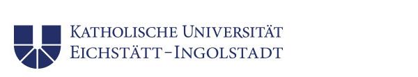 Wissenschaftlicher Mitarbeiter / Akademischer Rat auf Zeit (m/w/d) - Katholische Universität Eichstätt-Ingolstadt - Logo