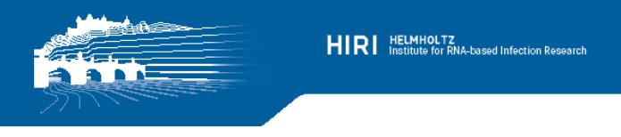 Postdoc - Helmholtz-Zentrum für Infektionsforschung (HZI) - Logo