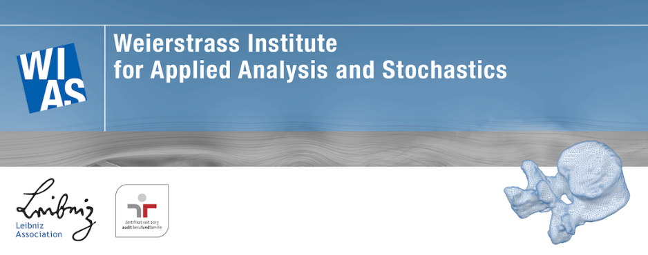 Research Assistant Position (f/m/d) - WIAS - Logo