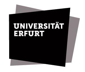 Universität Erfurt - Logo