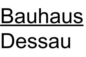 Direktor (m /w /d) - Stiftung Bauhaus Dessau - Logo