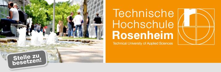 Projektmitarbeiter (m/w/d)  - TH Rosenheim - Logo