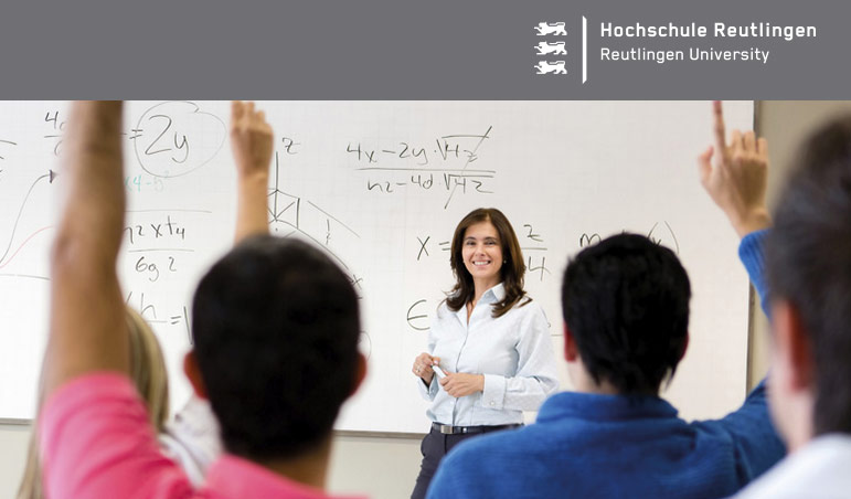Professur (W2) Lehr- und Forschungsgebiet: Allgemeine Betriebswirtschaftslehre - Hochschule Reutlingen - Logo