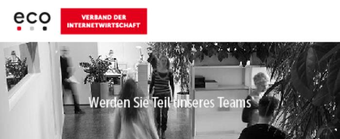 Sachbearbeiter (m/w/d) Drittmittel - eco - Verband der deutschen Internetwirtschaft e. V. - Logo