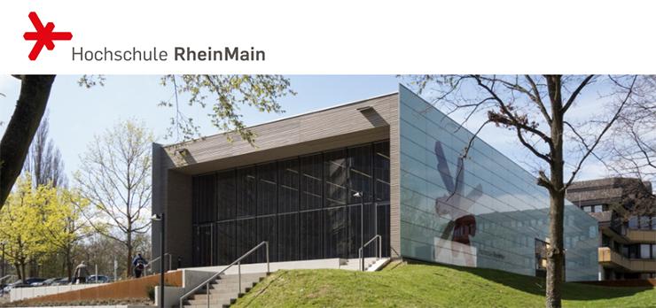 Professur (W2) - Hochschule RheinMain - Logo