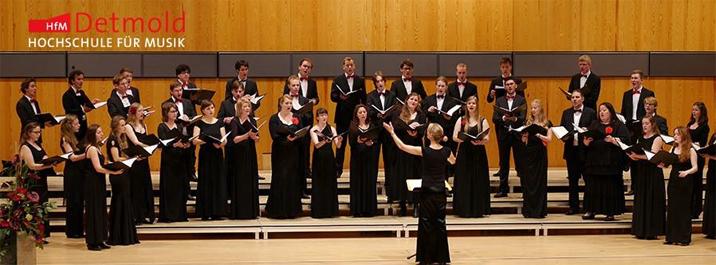 Professur für Chorleitung - HFM - Header