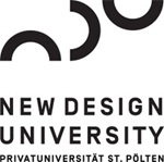 Universitätsprofessur -  New Design University - Logo
