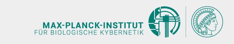 Max-Planck-Institut für biologische Kybernetik - Header