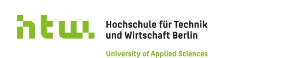 Professur (W2) Fachgebiet Wirtschaftsinformatik mit Schwerpunkt Verteilte Anwendungen - HTW Berlin - Logo