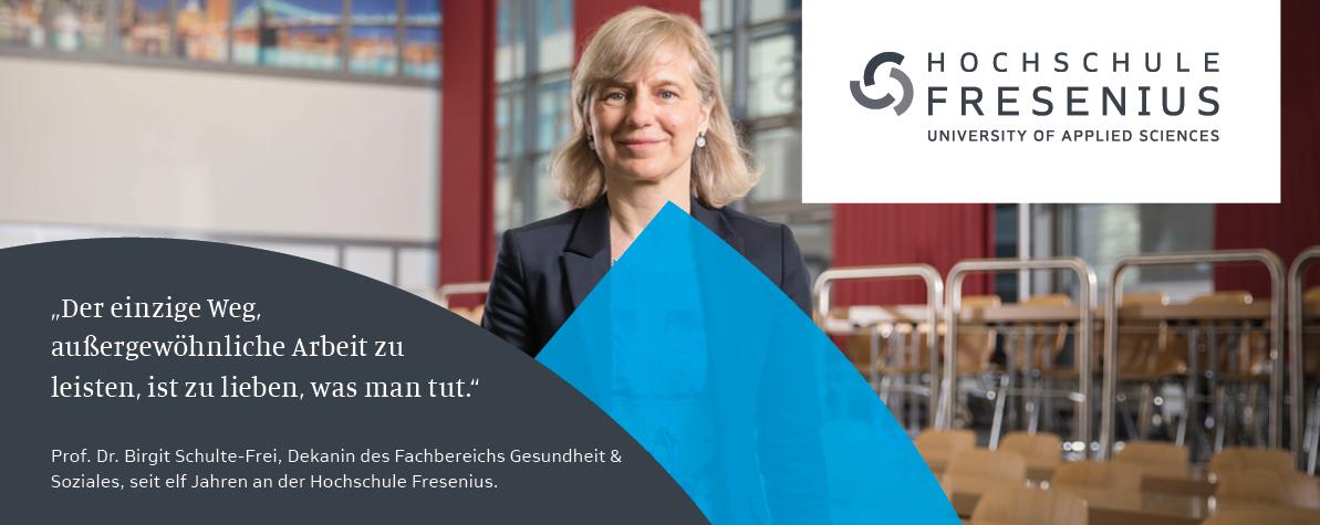 Professur - Hochschule Fresenius - Slider1