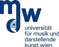 Universitätsprofessur Universitätsprofessor für Rollengestaltung - Universität für Musik und darstellende Kunst Wien - Logo