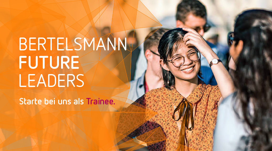 Bertelsmann Creative Management Program 2020 - Bertelsmann - Header